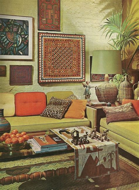 Retro Home Interiors by Vintage 1960s Decor Vintage Home Decorating 1960s Style