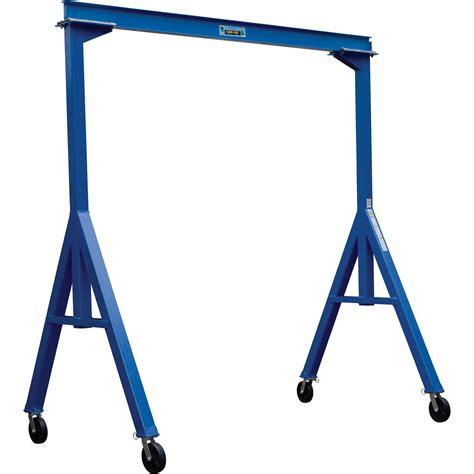 vestil fixed gantry crane  lb capacity northern tool equipment