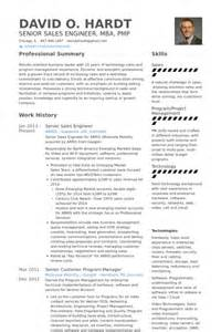 Resume Sles For Engineers by Sales Engineer Resume Sles Visualcv Resume Sles