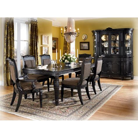 britannia rose dining room set d651 02 ashley furniture britannia rose side chair rta