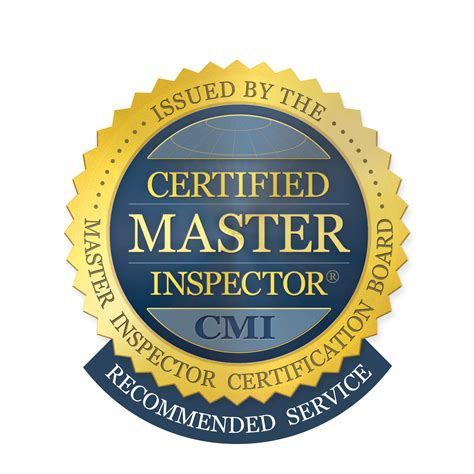 certified service certifed master inspector 174 logos certified master inspector 174