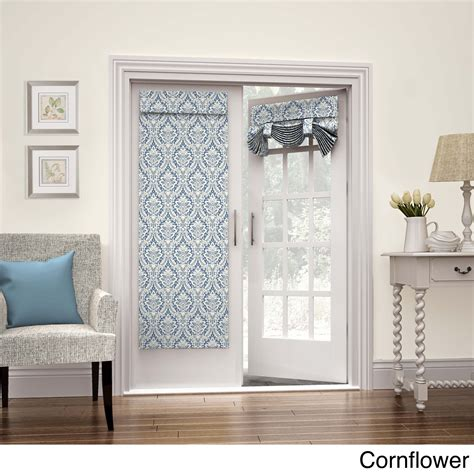 glass door waverly waverly donnington door panel 26x68 cornflower