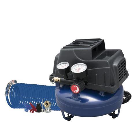 shop cbell hausfeld 0 2 hp 1 gallon 110 psi 120 volt pancake portable electric air compressor