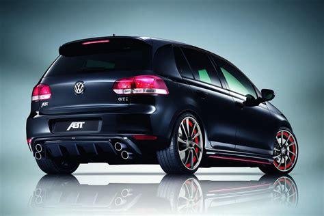 volkswagen gti sports car volkswagen cars news abt tuned mk6 golf gti