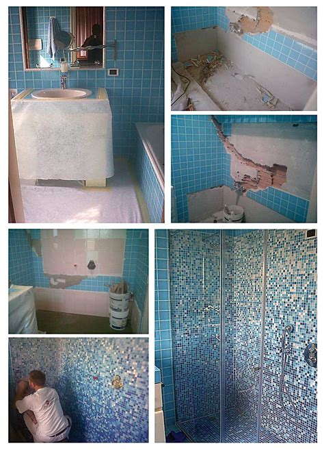vasca da bagno trasformata in doccia una vasca da bagno inutilizzata trasformata in spazioso