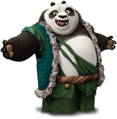 Kaos Kungfu Panda Kungfu Panda Po And Mr Ping By Crion kung fu panda