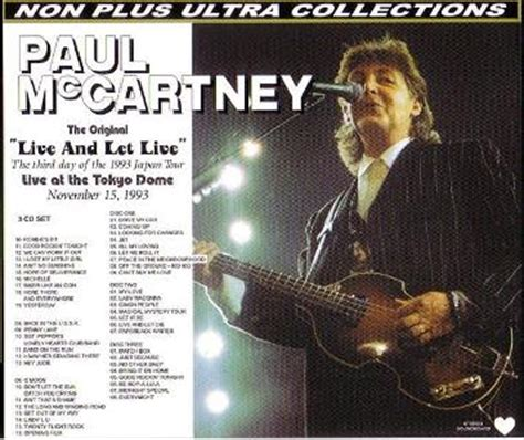 collectors  reviews paul mccartney       ultra npu