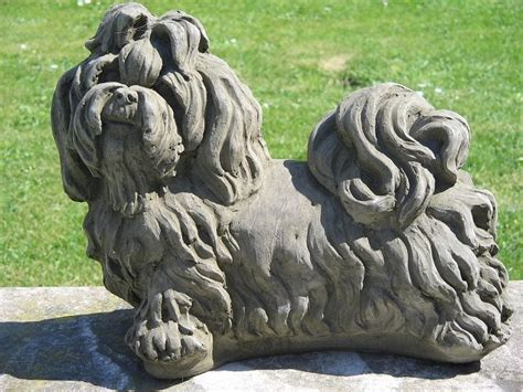shih tzu statue 25 best statues images on