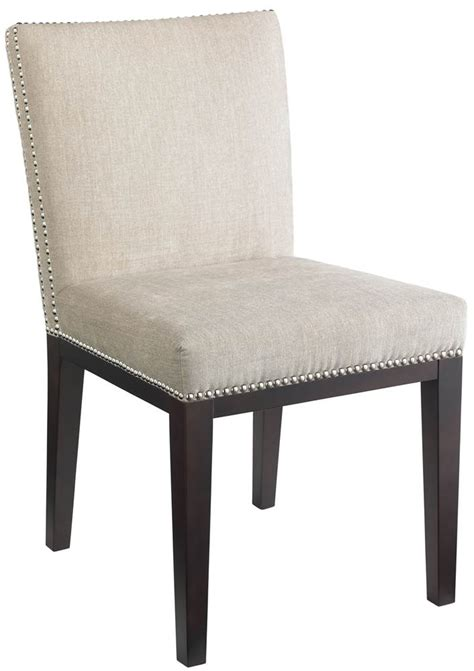 nailhead dining chairs upholstered square back dining chair w nailhead trim set of 2
