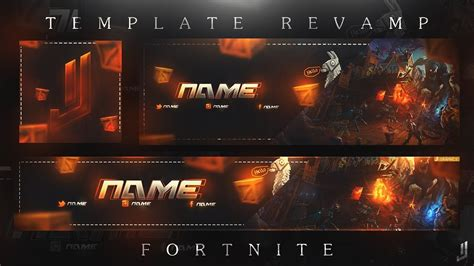Rev Fortnite Template Banner Logo Header 2017 Full Movies Live Video Movies Action Fortnite Logo Template