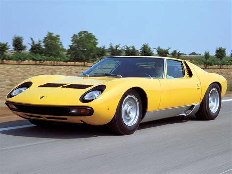 1971 Lamborghini Miura P400 Sv 1966 Lamborghini Miura Bertone Studios