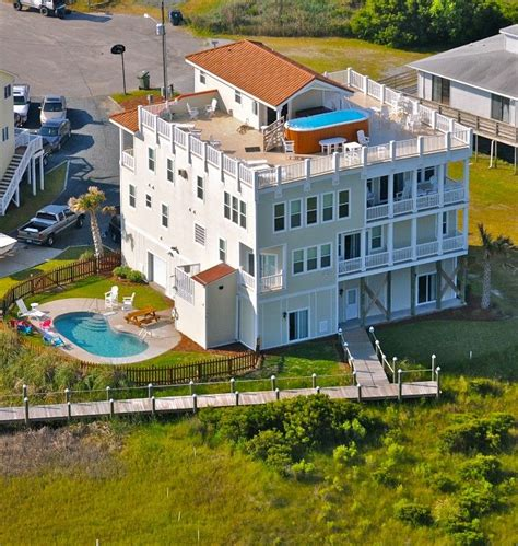 North Topsail Beach Vacation Rental Vrbo 222275 9 Br Topsail House Rentals