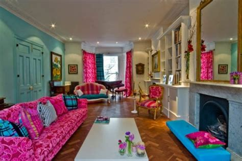 colorful interior design get a delight interior by applying some colorful designs
