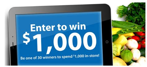 Kroger Sweepstakes - kroger enter to win 1 000 debt free spending