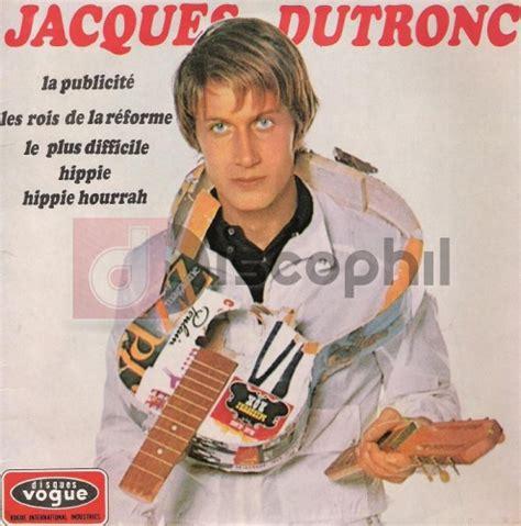 jacques dutronc hippie hippie hourrah jacques dutronc la publicit 233 discophil books vinyls