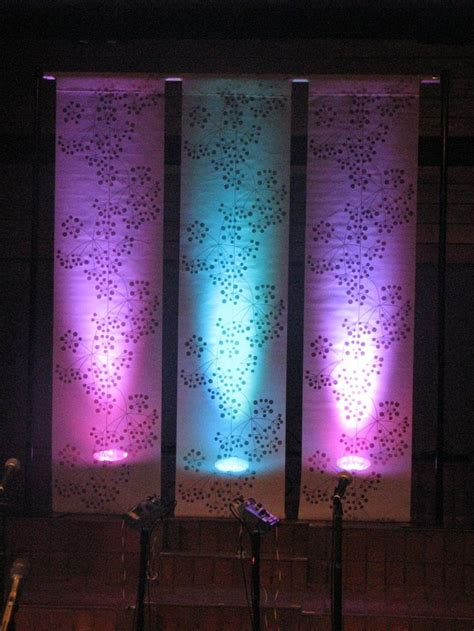 church stage curtains up lit panels curtains or wallpaper quot ikea curtain