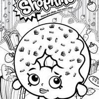 Desenho de shopkins balas para colorir tudodesenhos