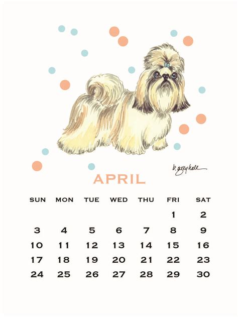 shih tzu calendars 26 best images about 2016 desk calendar on watercolors shops and beautiful