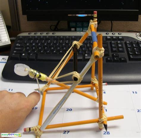 Handmade Catapult - diy toys for adults easy diy toys