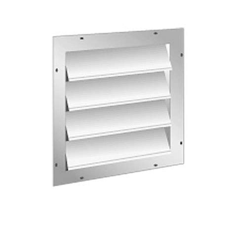 air vent 18 in dia electric gable vent fan master flow 20 in aluminum gable mount automatic shutter