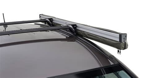 roof rack shade awning sunseeker awning angled down bracket for flush bars