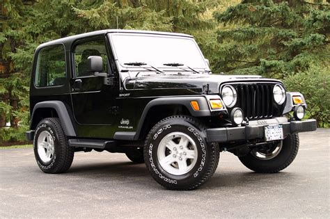 Jeep Sports 2004 Jeep Wrangler Sport Jeep Colors