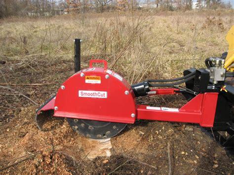 Wosg 25h skid steer loader mounted stump grinder