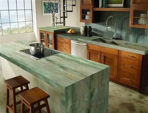 modern kitchen countertops from unusual materials 30 ideas 22 contemporary concrete and stone kitchen countertop ideas