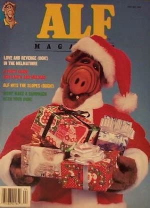 startists the talk magazine winter edition books alf magazine alf tv