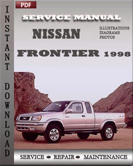 nissan frontier 1998 service manual pdf download servicerepairmanualdownload com