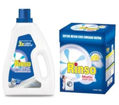 Detergent Rinso Anti Noda 1 8 Kg 1 8 Kg rinso matic front load citra sukses international