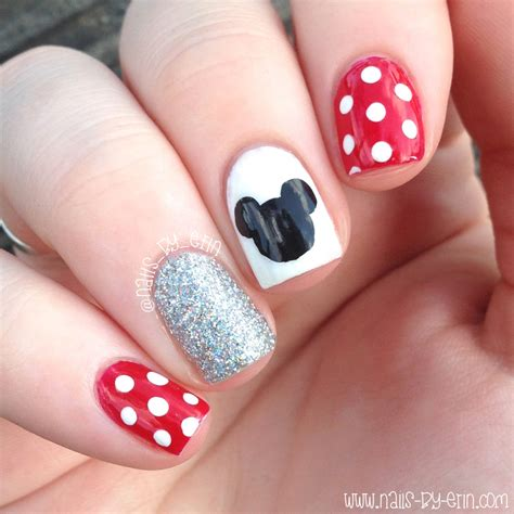 easy nail art on dailymotion minnie mouse nail art easy nail ftempo