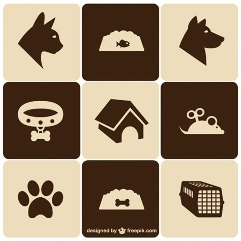 how to make a retro icon style using the appearance panel retro style pet icons set vector free download