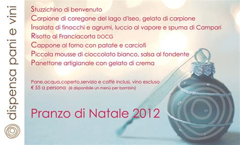 dispensa pane e vino 25 dicembre 2012 menu pranzo di natale dispensa