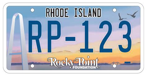 order your rocky point license plate now the rocky