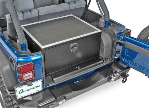 Jeep Wrangler Cargo Box Mac S 702010 Mac S Black Box Storage Box For 07 16 Jeep