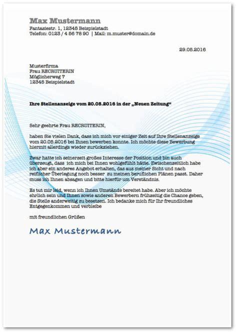 Brief Antrag Zurückziehen Bewerbungsmuster 220 Ber 40 Gratis Design Vorlagen Herunterladen Karrierebibel De