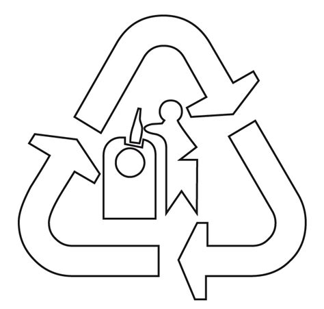 dibujos de reciclaje para colorear az dibujos para colorear del reciclaje para colorear imagui