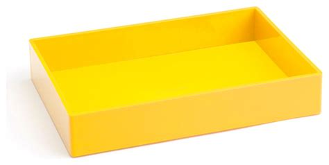 Yellow Desk Accessories Accessory Tray Yellow Modern Desk Accessories By Poppin