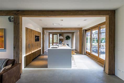 inrichting woonkamer hout kastenwand woonkamer houten