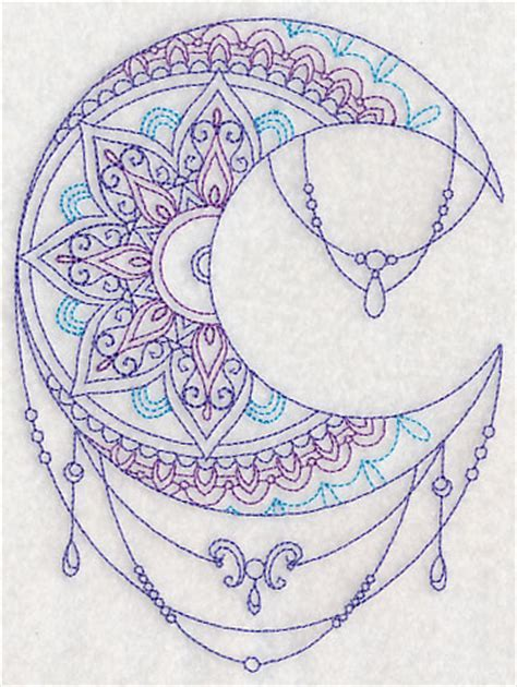 design henna moon machine embroidery designs at embroidery library