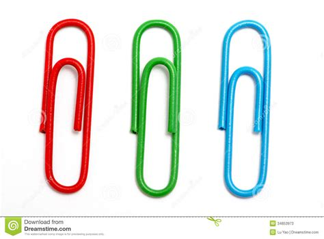picture clips colored paper clip stock photos image 34853973