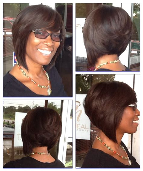 sew hairstyles gallery sew in layered bob hairstyles weave styles for natural