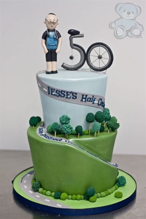 Cake Decoration Bicycle by Mountain Bike Cake Baking 50th