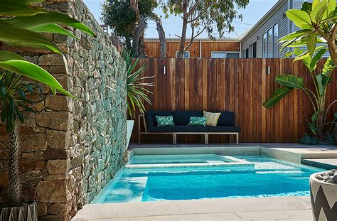 backyard com ocean grove plunge pool king s landscaping