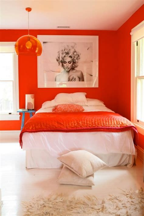 orange room ideas orange rooms archives shelterness