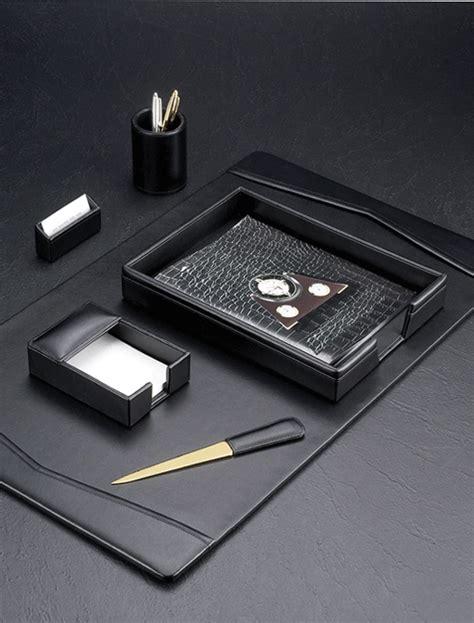 leather desk blotter set leather desk sets conference desk sets executive desk