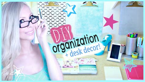 Diy Desk Decor Ideas Diy Organization Desk Decor Ideas