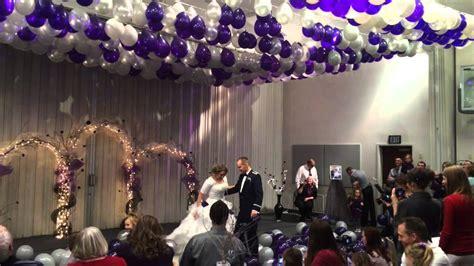 Misti and aaron s wedding reception 2014 balloon drop youtube