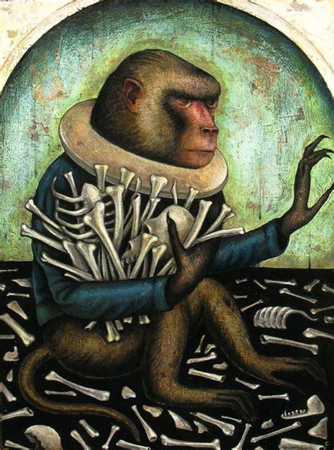 monkey heaven art about an attribute greed by craig larotonda big